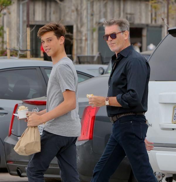 Pierce Brosnan y Paris Brosnan, como dos gotas de agua - Yahoo Celebrity España