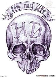 Картинки по запросу harley davidson tattoos