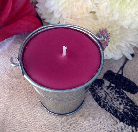 Botanical Jasmine scented mini silver bucket by SnowballLondon