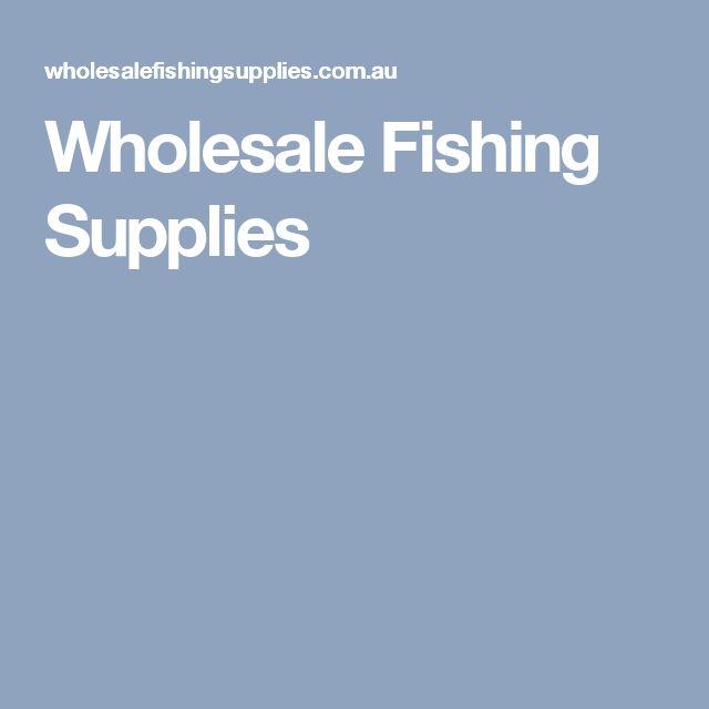 Wholesale Fishing Supplies