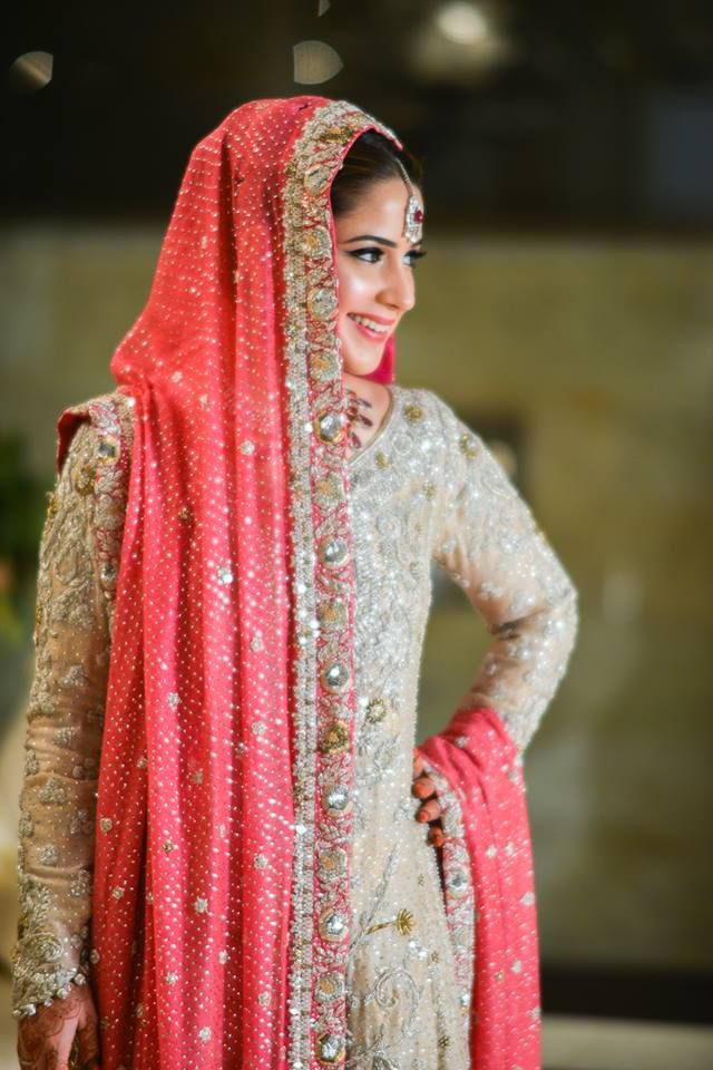 Beautiful Pakistani Nikaah Dress