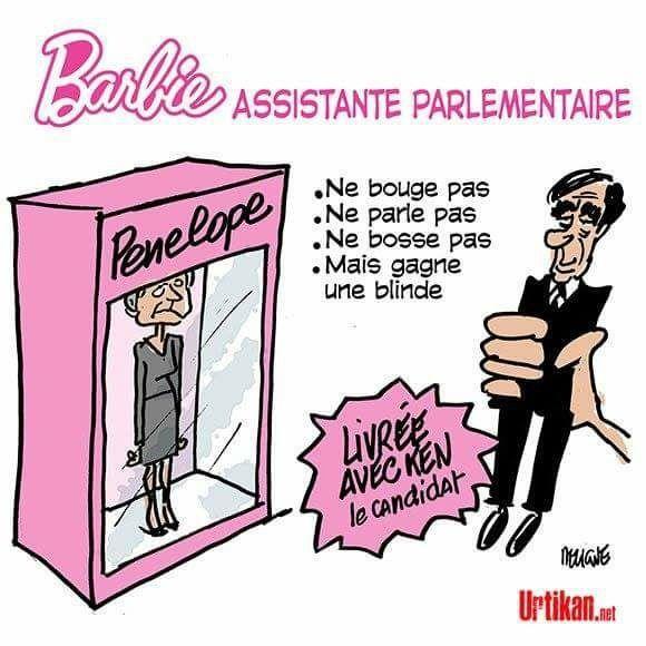 La nouvelle poupée Barbie...