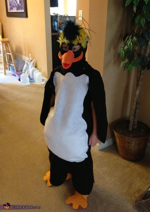 Rock Hopper Penguin Costume - 2014 Halloween Costume Contest via @costume_works
