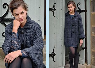 HOLT knit coat