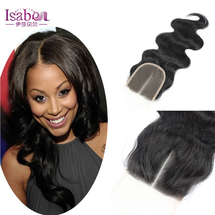 7A Grade Lace Closure Bleached Knots Middle/Free/Three Part Brazilian Body Wave Hair Closure brazilian Virgin Hair Lace closure