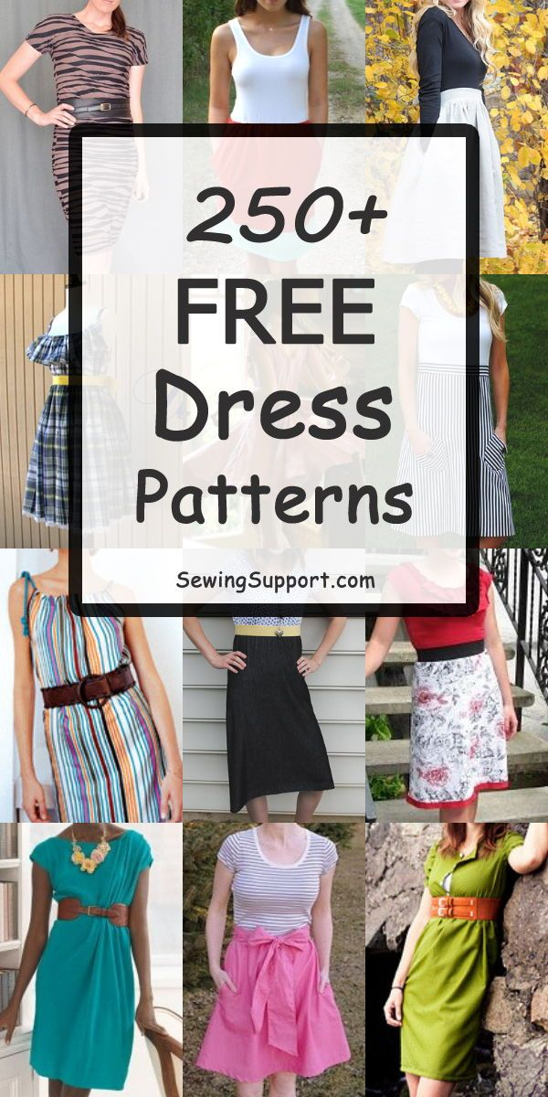 260 Free Women S Dress Patterns Sewing Patterns Free Women