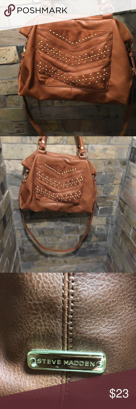 Steve Madden messenger bag Supper cute excellent condition large messenger bag by Steve Madden Steve Madden Bags Shoulder Bags