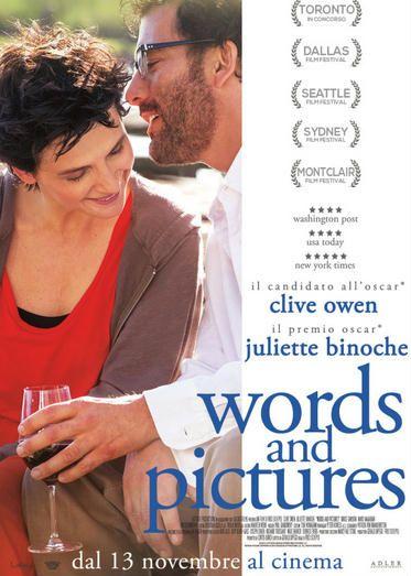 Words and Pictures (sentimentale) al #cinema dal 13 novembre 2014 ... #film #trailer