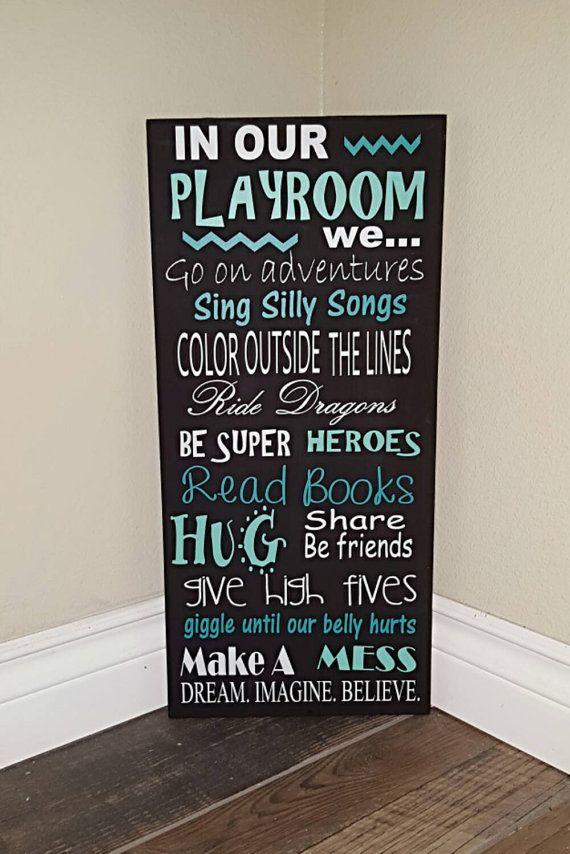 Playroom rules :)