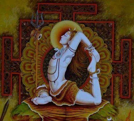 shiv yogi  yoga  pinterest  yoga and namaste