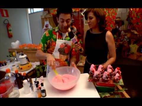 Cupcake de glicerina com Peter Paiva. #diy #soap #video