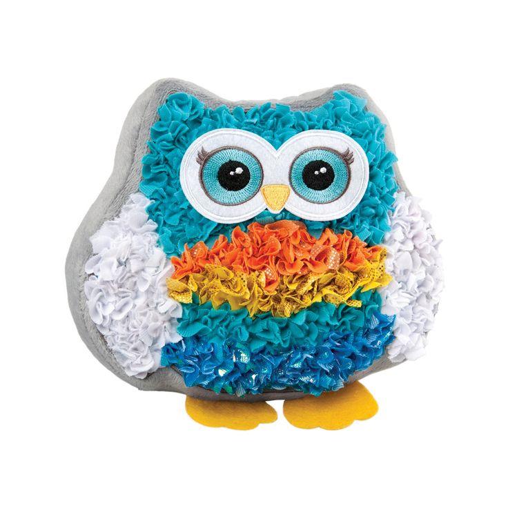 PlushCraft Diy Fabric Owl Pal Pillow