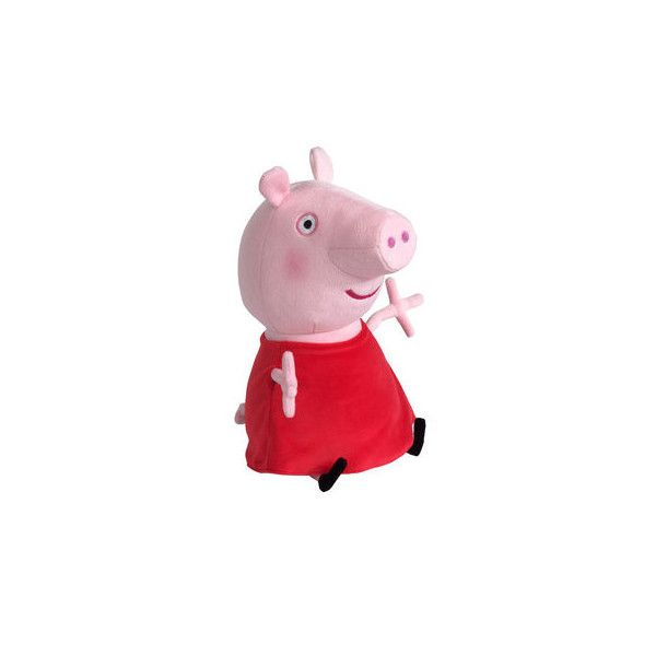 """14"""" Peppa Pig Soft Toy ($16) ❤ liked on Polyvore featuring toys"""