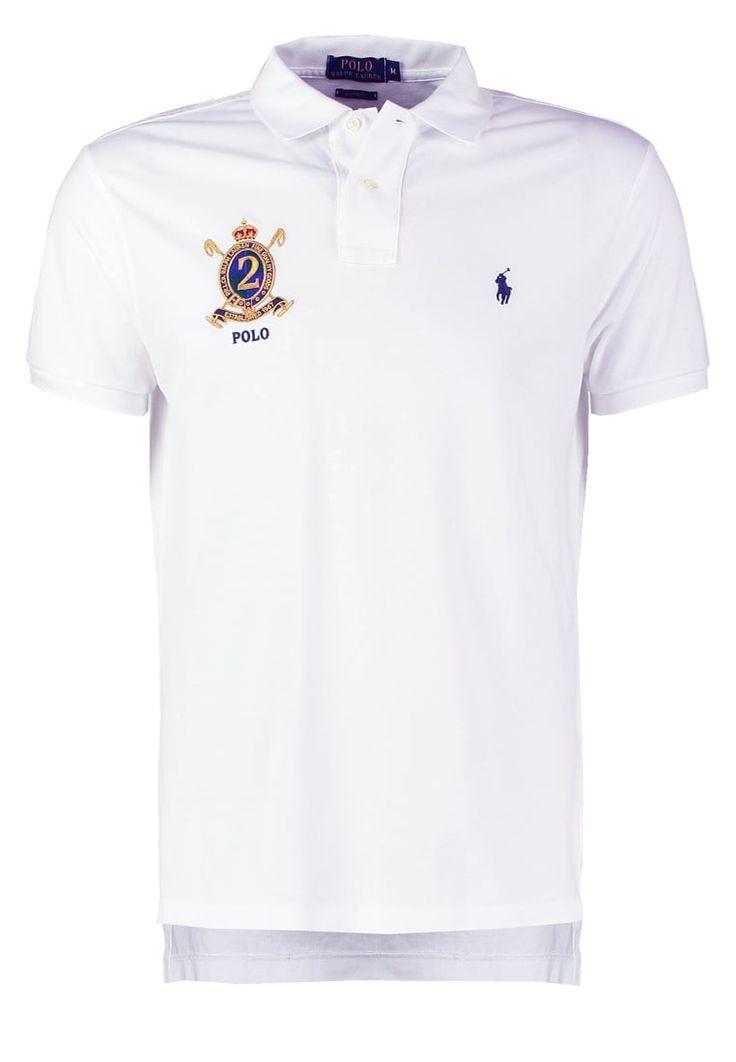 Polo Ralph Lauren CUSTOM FIT Poloshirt white Premium bei Zalando.de | Material Oberstoff: 100% Baumwolle | Premium jetzt versandkostenfrei bei Zalando.de bestellen!