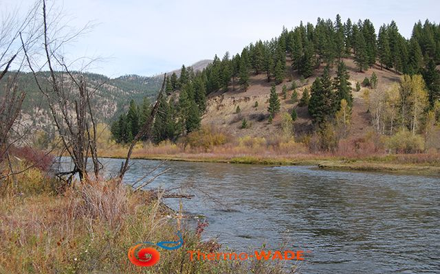 Gallatin River, just south of Bozeman Montana  . #Montana #Troutbum #Flyfishing  Discover #Thermowade:    https://goo.gl/zQ1KoE