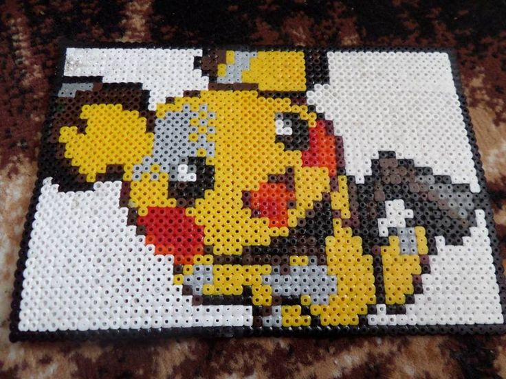 Pokemon hama beads sprite by wild-at-heart-crate