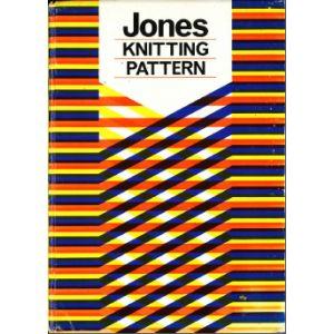 Jones Knitting Pattern Book 8 stitch