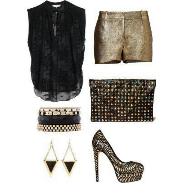 Night Club Wear Shorts for Women