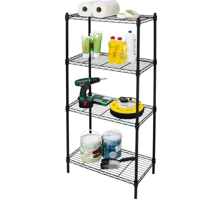best 25 garage shelving units ideas on pinterest diy. Black Bedroom Furniture Sets. Home Design Ideas