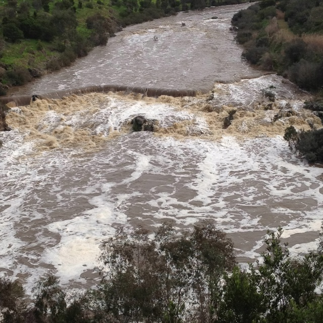 Buckley's Falls and the Bunyip Pool.   A Bunyip is a mythical aboriginal monster.