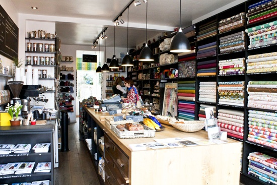 Ray Stitch; one part haberdashery shop, one part workshop space, and one part coffee / sandwich bar – the perfect combination!