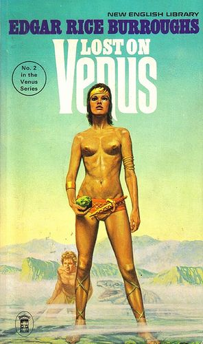 Lost On Venus by Edgar Rice Burroughs