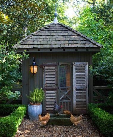 7 Beautiful Chicken Coops to Brighten Your Backyard