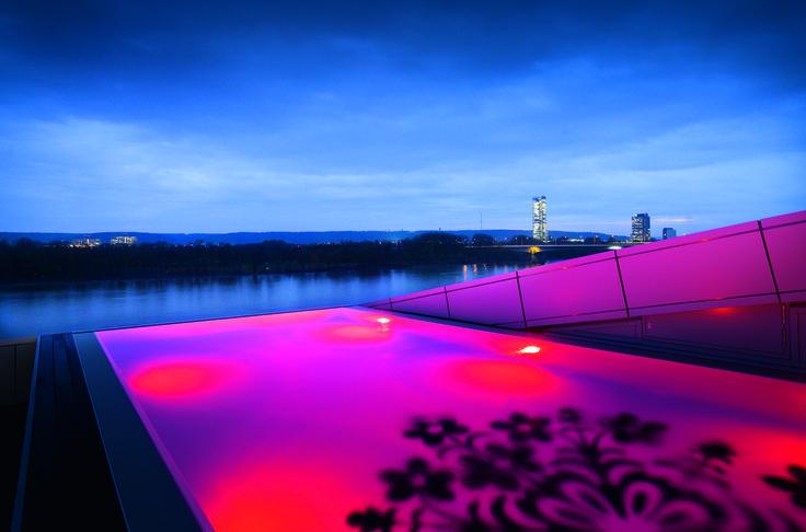 #infinitypool at the Kameha Grand Hotel in Bonn, Germany