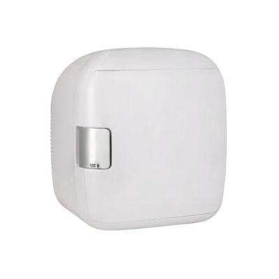 Gourmia Portable Nine-Can Capacity White Mini Fridge