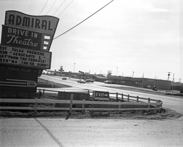Admiral Twin Drive-In, 1962. I watched Psycho in the reflection of the station wagon's rear window. I didn't sleep for weeks. I was 8. :-(