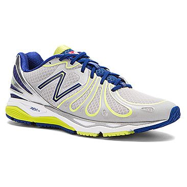 Mens New Balance Shoes Silver Navy