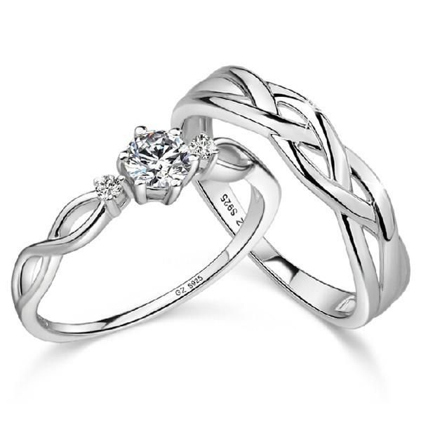 925 Sterling Silver Emulation Diamond Couple Rings https://www.evermarker.com/collections/couples-rings?pid=latest-925-sterling-silver-emulation-diamond-couple-rings&utm_source=Pinterest_Organic&utm_medium=Traffic&utm_campaign=latest-925-sterling-silver-emulation-diamond-couple-rings