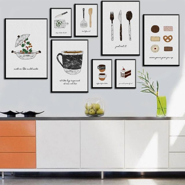 Modern Posters And Prints On Canvas Wall Art Canvas Painting