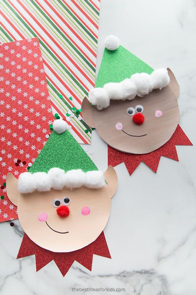 Elf Template Craft Preschool Christmas Crafts Elf Crafts Preschool Christmas