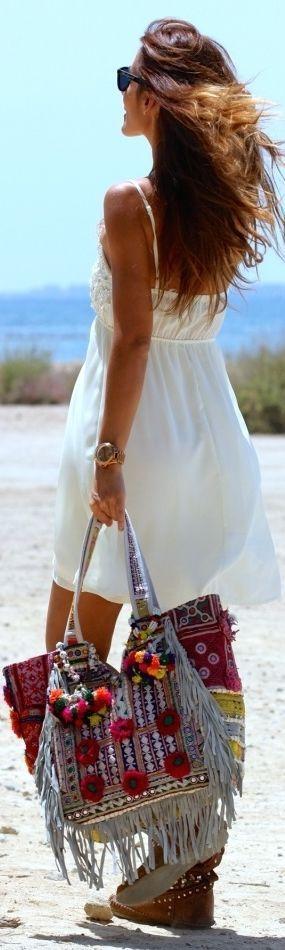 Love the colours in the bag..... Bohème Gypsy Spririt - ♔LadyLuxury♔