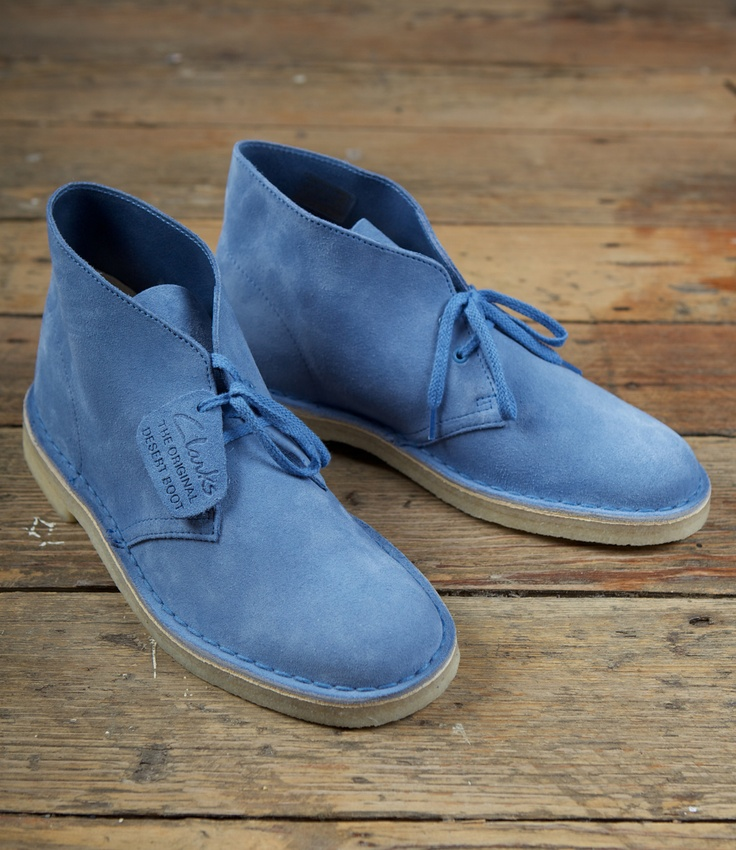 Clarks Men Suede Shoes