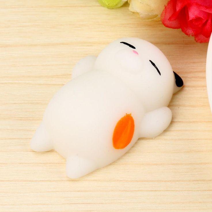 Cute Mochi Squishy Cat Squeeze Healing Fun Kids Kawaii Toy Stress Reliever Decor J7092
