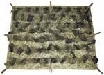 Woodland Camouflage Ghillie Blanket is great for hunting or for snipers gear