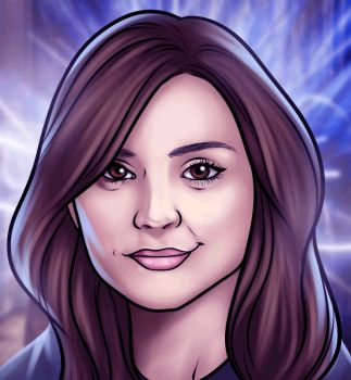 How to Draw Clara Oswald, Clara From Doctor Who, Step by Step, Stars, People, FREE Online Drawing Tutorial, Added by Dawn, May 26, 2013, 3:13:12 pm
