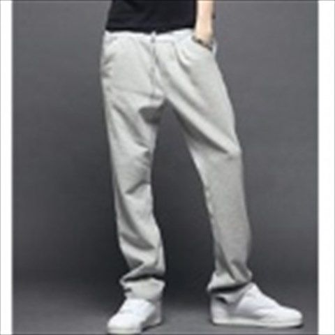 Casual Sport Polyester Pants for Men - Grey (XL) $24.06