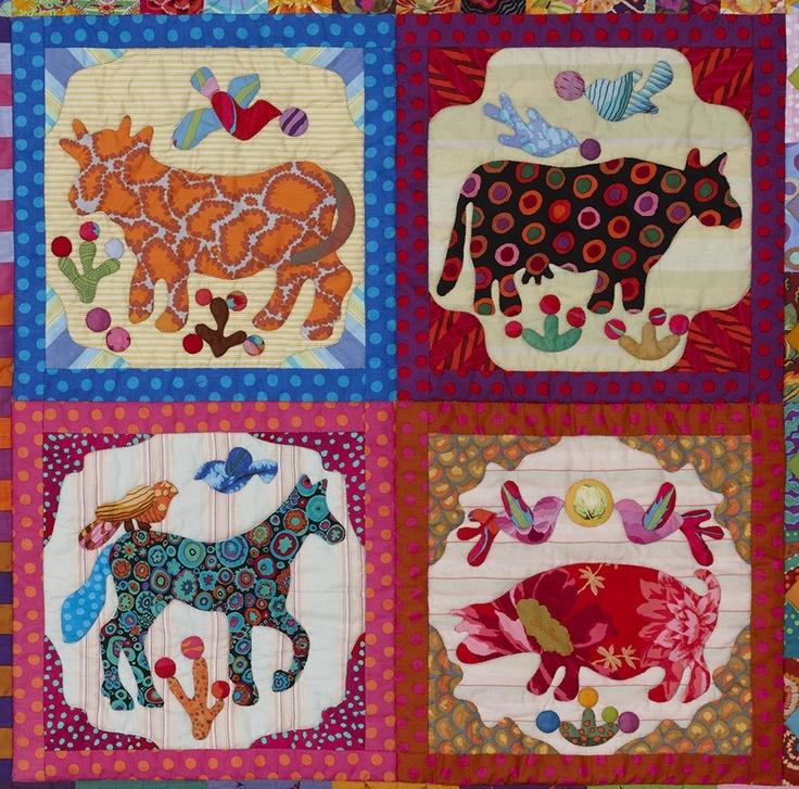 163 best KIM McLEAN QUILTS images on Pinterest | Quilt patterns ... : how to applique quilt tutorial - Adamdwight.com