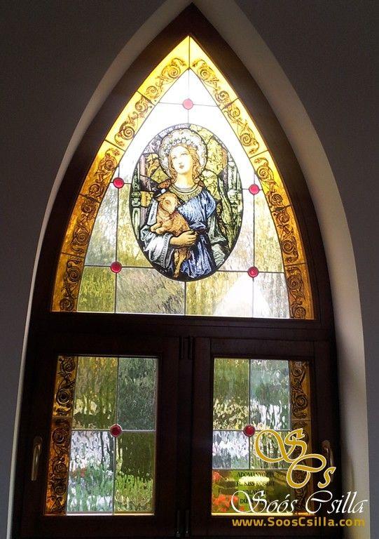 Výroba Vitráže Okna Kaplnky v Malom Blahove  http://sk.sooscsilla.com/cirkevne-nabozenske-a-kostolne-sakralne-vitraze/ http://sk.sooscsilla.com/portfolio/vyroba-vitraze-okna-kaplnky-v-malom-blahove/