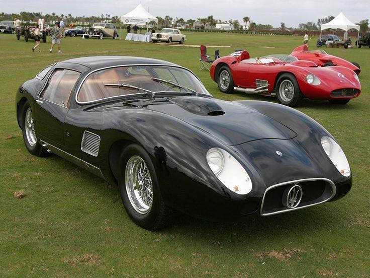 Luxury Cars  :   Illustration   Description   Maserati 450S Costin-Zagato Coupe photo 42407