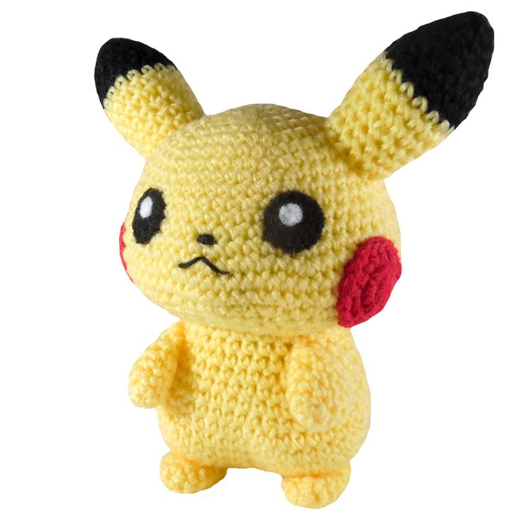 Pika Pika! Gotta catch 'em all! Make this cute Pikachu amigurumi with Vanna's Choice and play some Pokemon GO!
