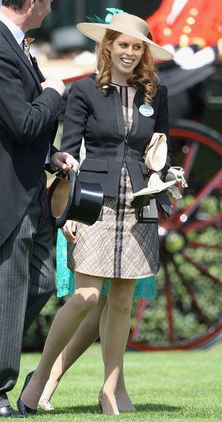 Princess Beatrice of York and 3.1 Phillip Lim Spring 2011 RTW Panel Dress