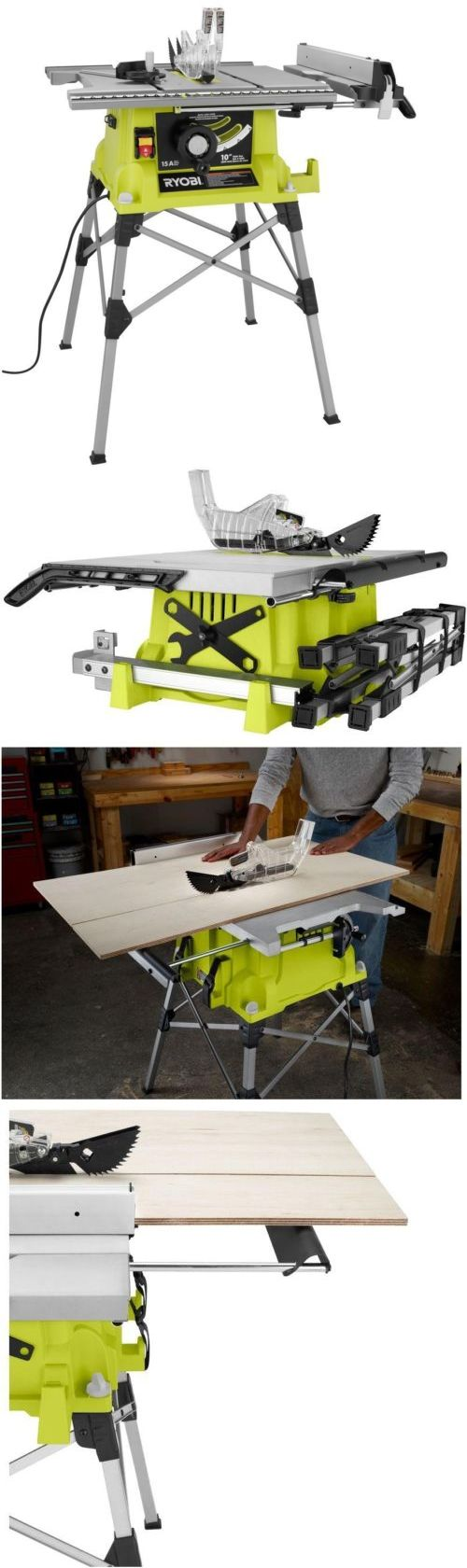 Best 25 Ryobi Table Saw Ideas On Pinterest Building Furniture Craftsman Router And Portable