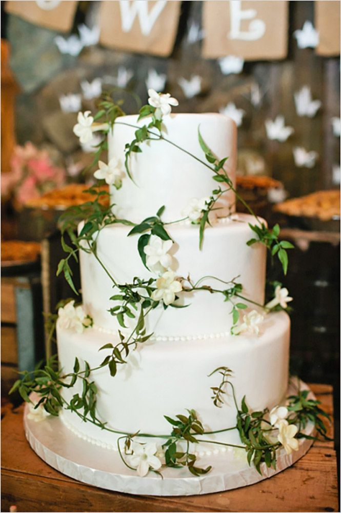 Rustic Wedding Cakes For The Perfect Country Reception ❤ See more: http://www.weddingforward.com/rustic-wedding-cakes/ #weddings
