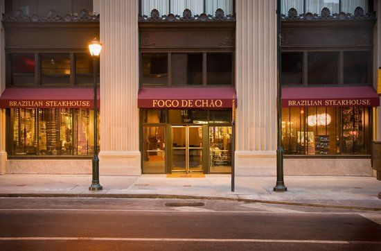 Fogo de Chao - Center City Philadelphia -- it's inside an old jewelry store and the architecture is AMAZING! As always the food was delicious. Definitely visit here!