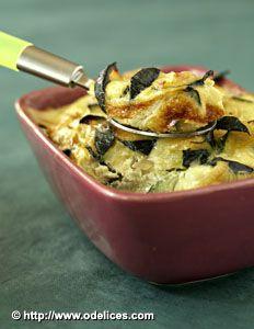 Gratin de courgettes au munster - les meilleures recettes de cuisine d'Ôdélices validé !