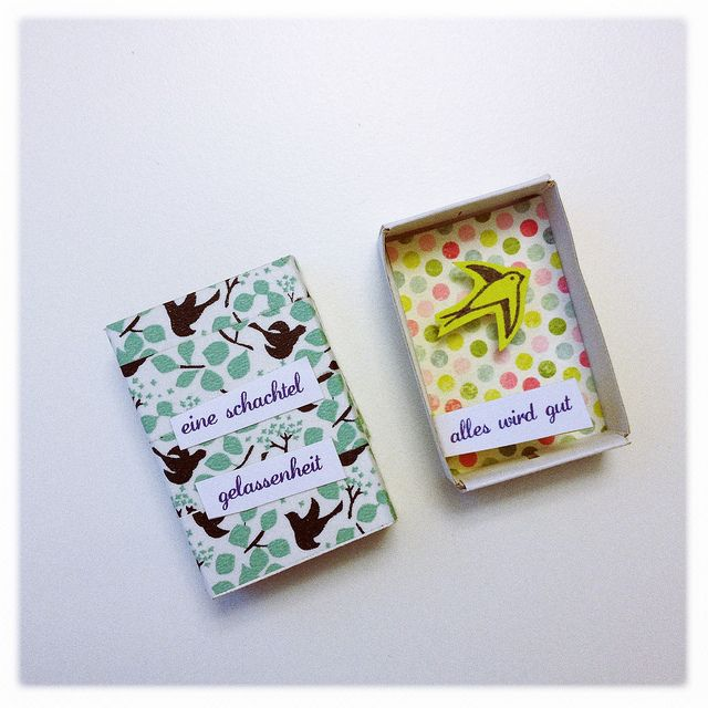 Little boxes of encouragement and positivity by Happy Serendipity.